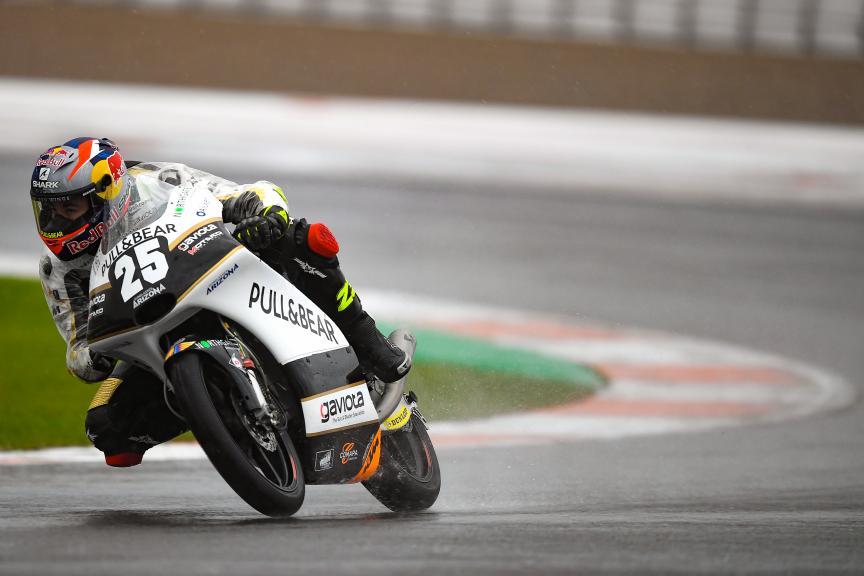 Raul Fernandez, Angel Nieto Team Moto3, Gran Premio Motul de la Comunitat Valenciana