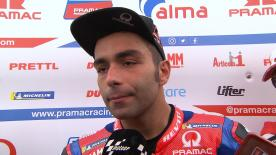 A good performance in his first day in Valencia, the outbound Alma Pramac rider finished the day third fastest