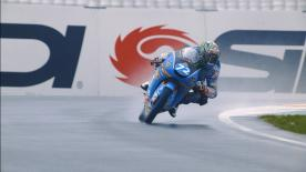 The Spanish rider set the pace at the Circuit Ricardo Tormo, leading Bezzecchi and Diggia in the combined times