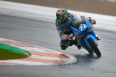 Lopez the leader after Friday's Moto3™ action