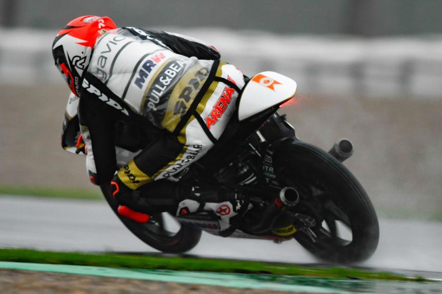 Albert Arenas, Angel Nieto Team Moto3, Gran Premio Motul de la Comunitat Valenciana