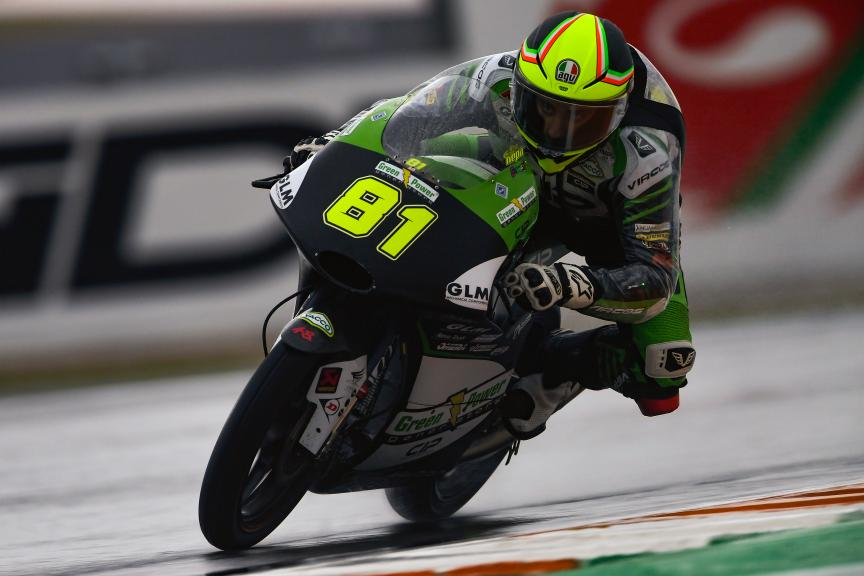 Stefano Nepa, CIP - Green Power, Gran Premio Motul de la Comunitat Valenciana