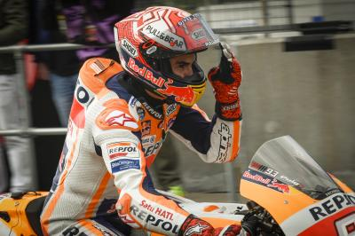 Marquez: 'Wenn möglich will ich aufs Podium fahren'