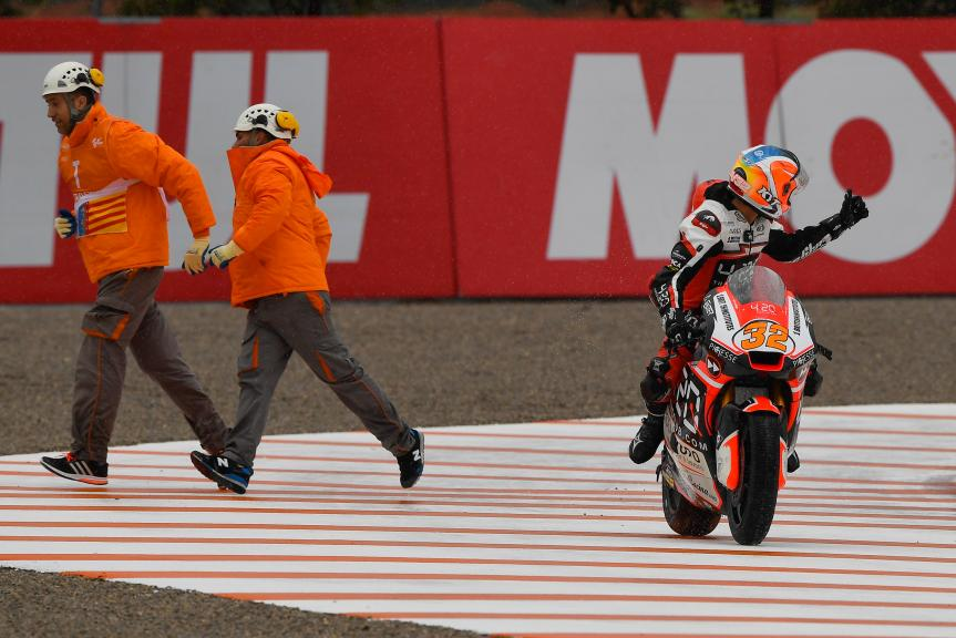 Isaac Vinales, Forward Racing Team, Gran Premio Motul de la Comunitat Valenciana