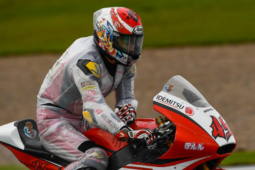 Tetsuta Nagashima, Idemitsu Honda Team Asia, Gran Premio Motul de la Comunitat Valenciana