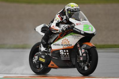 Lecuona leads the way by 0.798 in Moto2™ FP1