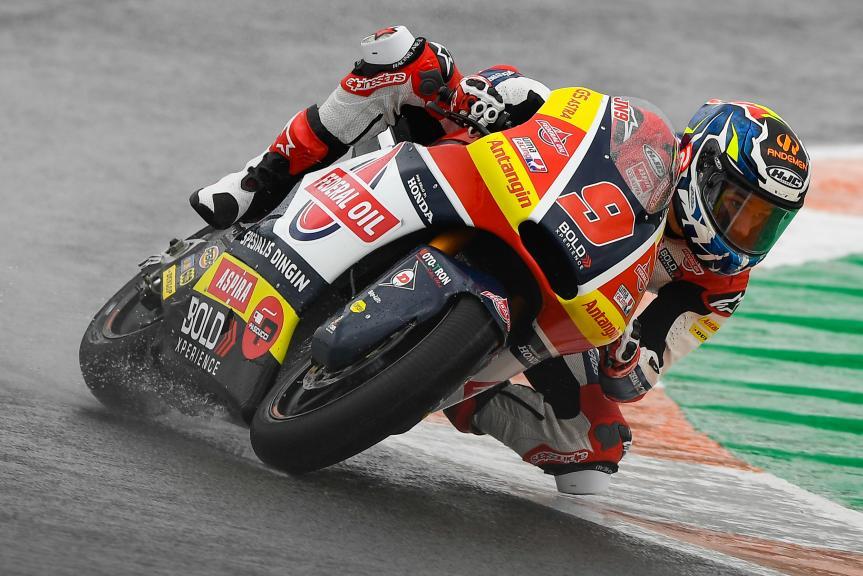 Jorge Navarro, Federal Oil Gresini Moto2, Gran Premio Motul de la Comunitat Valenciana