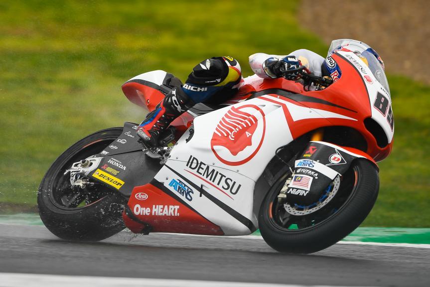 Khairul Idham Pawi, Idemitsu Honda Team Asia, Gran Premio Motul de la Comunitat Valenciana