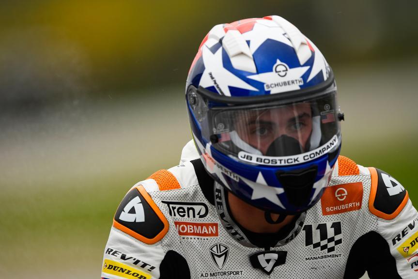 Joe Roberts, NTS RW Racing GP, Gran Premio Motul de la Comunitat Valenciana