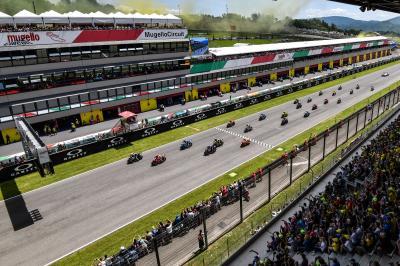 Les grilles complètes du MotoGP™, Moto2™ et Moto3™ pour 2019