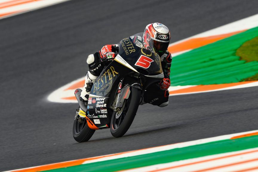 Jaume Masia, Bester Capital Dubai, Gran Premio Motul de la Comunitat Valenciana