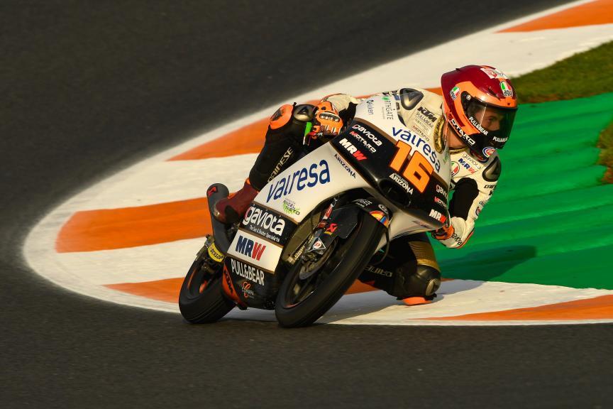 Andrea Migno, Angel Nieto Team Moto3, Gran Premio Motul de la Comunitat Valenciana