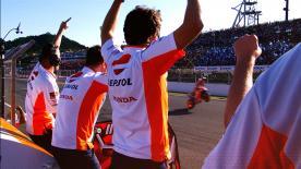Uno spettacolo tutto da vedere, il MotoGP™ continua ad emozionare. Ora non perdere l'appuntamento al Ricardo Tormo