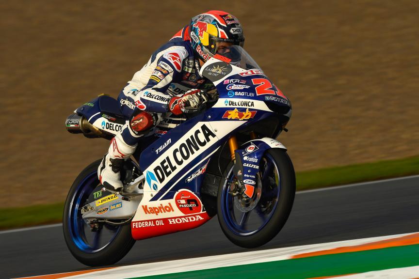 Fabio Di Giannantonio, Del Conca Gresini Moto3, Gran Premio Motul de la Comunitat Valenciana