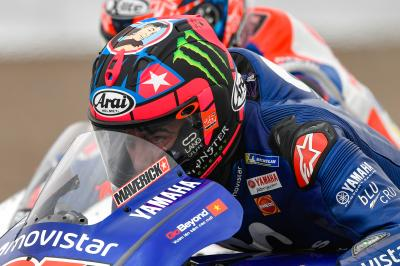 "Viñales: ""Dry or wet, we'll start on the front row!"""