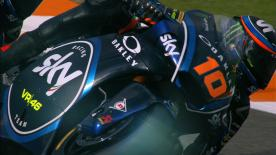 The SKY Racing Team VR46 rider was the fastest in Valencia, ahead of Xavi Vierge and Marcel Schrotter