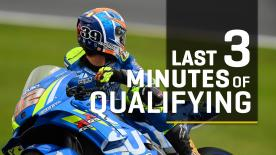 Watch the un-missable final 3 minutes of MotoGP™ qualifying as riders took their shots at pole