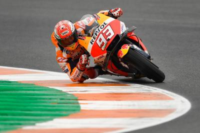 Marquez half a second clear in FP4