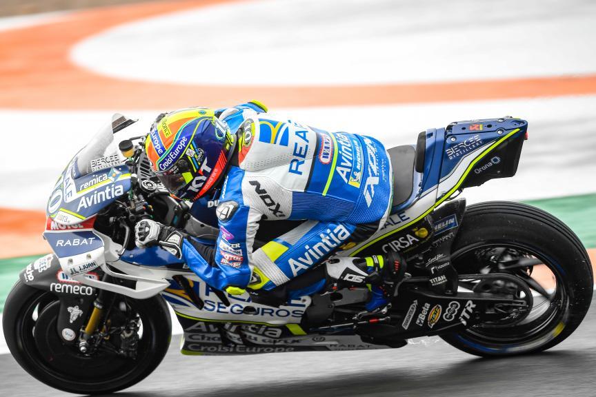 Xavier Simeon, Reale Avintia Racing, Gran Premio Motul de la Comunitat Valenciana