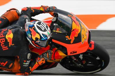KTM vuelve a posiciones destacadas con Pol Espargaró