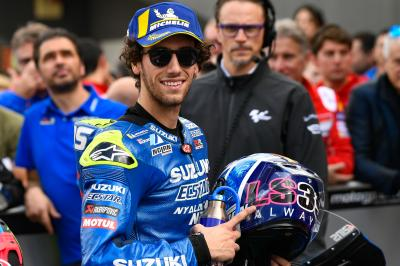 Rins on target for another podium