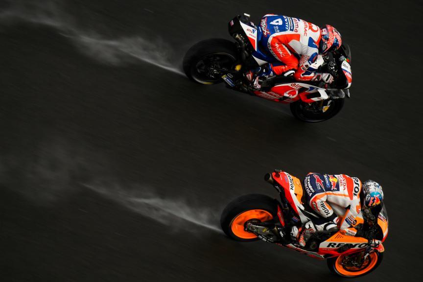 Danilo Petrucci, Dani Pedrosa, Gran Premio Motul de la Comunitat Valenciana