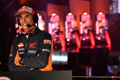 Things Marquez doesn't say in his media debriefs…