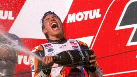 Take a look back at all the best bits of the 2018 MotoGP™ season in this thrilling four minute video