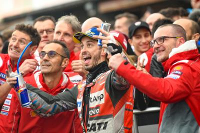 Dovi wins two-part race as Espargaro claims first KTM podium