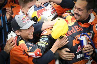 Can Oncu stuns the field to create Grand Prix history