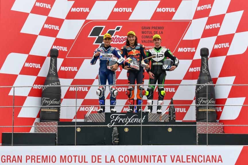 Can Oncu, Jorge Martin, John Mcphee, Gran Premio Motul de la Comunitat Valenciana