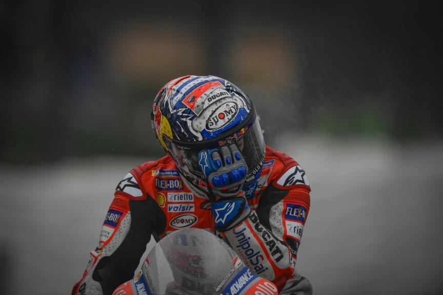 Andrea Dovizioso, Ducati Team, Valentino Rossi, Movistar Yamaha MotoGP