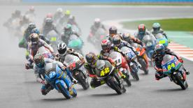 The full race session of the Moto3™ World Championship at the Gran Premio Motul de la Comunitat Valenciana at the Circuit Ricardo Tormo