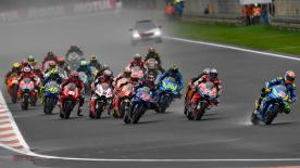 All the action from round 19 of the MotoGP? World Championship at the Circuit Ricardo Tormo