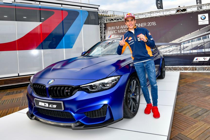 Marc Marquez, BMW