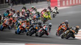 The full Moto2™ race at the Gran Premio Motul de la Comunitat Valenciana at the Circuit Ricardo Tormo