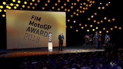 #MotoGPAwards: the Champions are crowned