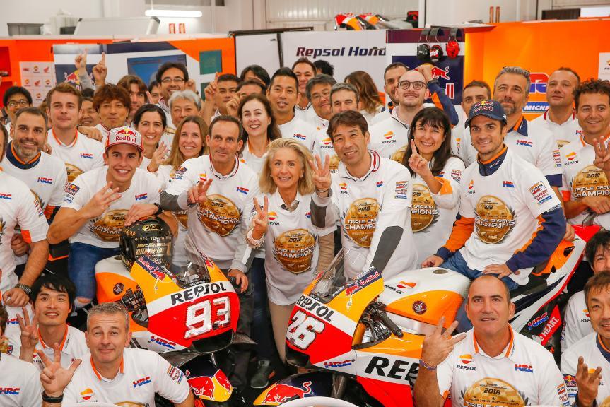 Dani Pedrosa, Marc Marquez, Repsol Honda Team
