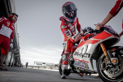 Don't miss the Valencia Test LIVE on motogp.com!