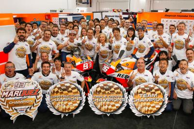 Triple crown: clean sweep for Honda in 2019