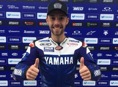 Folger returns to MotoGP™ as a Yamaha test rider