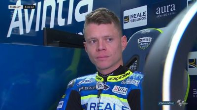 It's great to see @TitoRabat back in his leathers and in the #MotoGP paddock