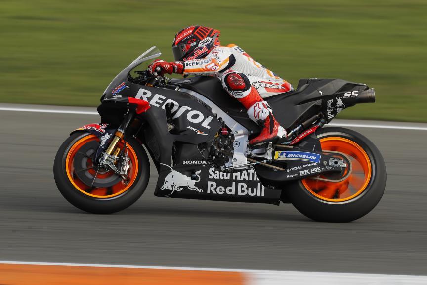 Marc Marquez, Repsol Honda Team, Valencia MotoGP™ Test