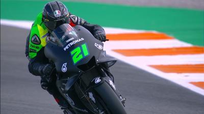 Petronas Yamaha SRT: watch their first laps