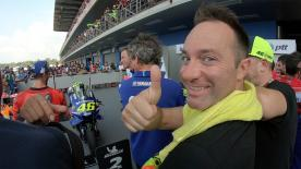 Responsible for Casa VR46, Max Montanari takes care of pretty much everything for the Doctor... except for the racing!