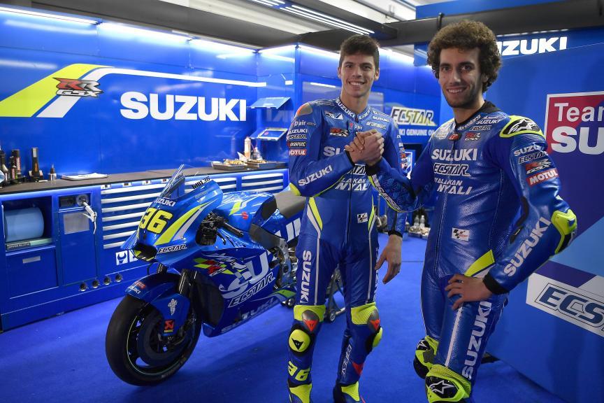 Alex Rins, Joan Mir, Team Suzuki Ecstar, Valencia MotoGP™ Test