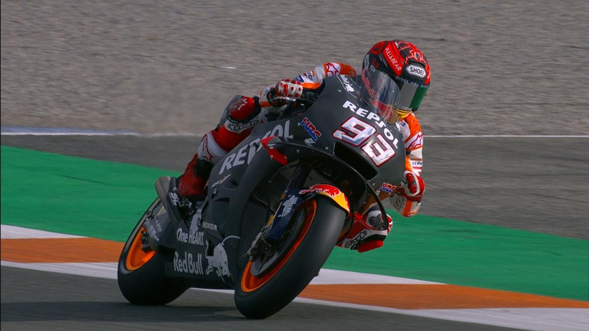 Marquez Maiden Outing On The Brand New Honda Bike Motogp