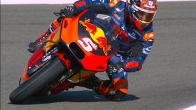 LIVE from the Valencia Test, Johann Zarco boards the RC16 with Red Bull KTM for the first time