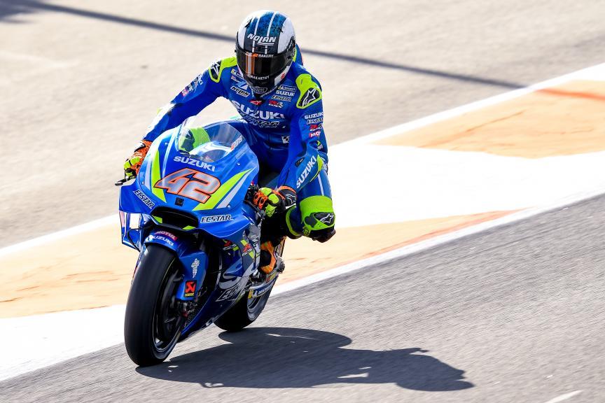 Alex Rins, Team Suzuki Ecstar, Valencia MotoGP™ Test