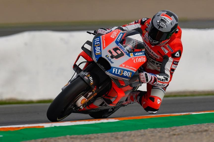 Danilo Petrucci, Ducati Team, Valencia MotoGP™ Test